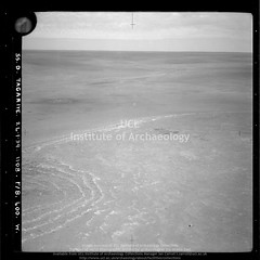 No ref (14574 of 'Seojeri-Tagariye-Mseylit-Sawab' roll) Post at Wadi Miyah (APAAME) Tags: blackwhite cellulosenegative oblique royalairforce scannedfromnegative siraurelstein uclinstituteofarchaeology uclinstituteofarchaeologyspecialcollections aerialarchaeology aerialphotography middleeast airphoto archaeology ancienthistory