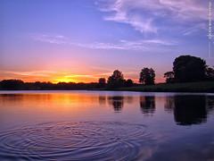 Sunset in JoCo, 9 June 2017 (photography.by.ROEVER) Tags: sunset sunsetting kansas johnsoncounty joco park lake heritagepark 2017 june june2017 usa
