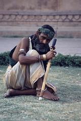 Lahore 1995 - Sufi (sharko333) Tags: travel voyage asia asie asien reise pakistan lahore man sufi portrait street beard analog 1995