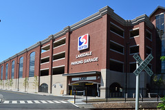 Lansdale_Station_Garage_crossing (Montgomery County Planning Commission) Tags: garage montgomerycountypa lansdaleborough septa