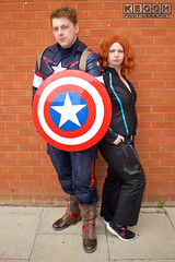 IMG_1808.jpg (Neil Keogh Photography) Tags: shield marvel theavengers stars blue cosplayers armour pants tv comics red female backpack male top jumpsuit film brown wintersoldier videogames boots black cosplay captainamerica marvelcomics blackwidow white