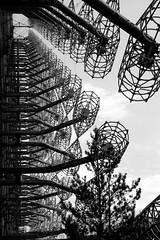 The Russian Woodpecker (Sean Hartwell Photography) Tags: duga3 radar array chernobyl coldwar sovietunion ussr radiation radioactive abandoned abstract shortwaveradio