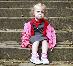 Only another 107 steps :-) (Mick Steff) Tags: macclesfield 108 steps children tired playing out people portrait