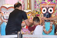 Snana Yatra 2017 - ISKCON-London Radha-Krishna Temple, Soho Street - 04/06/2017 - IMG_2464 (DavidC Photography 2) Tags: 10 soho street london w1d 3dl iskconlondon radhakrishna radha krishna temple hare harekrishna krsna mandir england uk iskcon internationalsocietyforkrishnaconsciousness international society for consciousness snana yatra abhishek bathe deity deities srisri sri lord jagannath baladeva subhadra 4 4th june summer 2017