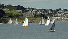 Racing Off St Mawes Castle (Cornishcarolin. Thank you for over 2 Million Views) Tags: cornwall falmouth pendennispoint seascapes boats yachts workingboats racing stmawescastle theriverfalestuary carrickroads