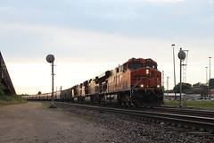 BNSF 6162 (CC 8039) Tags: bnsf trains es44ac ac44cw searchlight signal savanna illinois