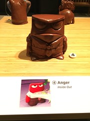 Maquette: Anger (Inside Out) (john.watne) Tags: scienceofpixar science computeranimation museum exhibit sciencemuseum sciencemuseumofminnesota stpaul