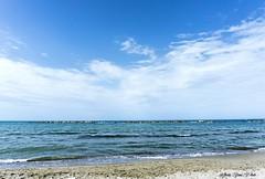 Blue sea (Artemisia9117) Tags: sea italy bluesea blue water landscapesea landscape landscapes nature beach sun summer happy sky waves seawaves mare paesaggio natura spiaggia photo campomarino termoli