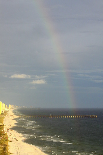 Rainbow over Panama City Beach