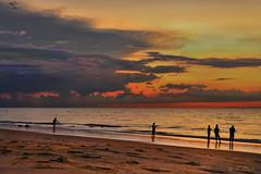 "Esperanza -  Hope. (frankolayag) Tags: pescadores mar oceano crepusculo colores arena españa huelva nubes atlantico europa ""nikonflickraward"" nikond5300 frankolaya atardeceres seascape beacheslandscapes"
