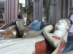 Beauchamp tomb, Worcester Cathedral (carolyngifford) Tags: worcestercathedral tomb beauchamp blackswan