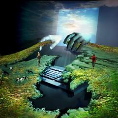 Erosion (jaci XIII) Tags: mãos computador erosão surrealismo hands computer erosion surrealism