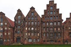 Salzspeicher in Lübeck (gnterchristian.thomsen) Tags: lübeck salzspeicher altstadt trave nikon