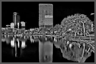Eola Lake Park, City of Orlando, Orange County, Florida, USA