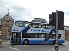 10 June 2017 Bristol (36) (togetherthroughlife) Tags: 2017 june bristol 33827 bus first sn63myk expressyourself x3