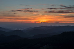 Landschaft-816-HDR.jpg (1993CHRISTOPH) Tags: nacht hdr lightpainting landschaft sommer buchkopfturm oppenau sternenhimmel sterne sonnenuntergang selbstportrait panorama langzeitbelichtung natur