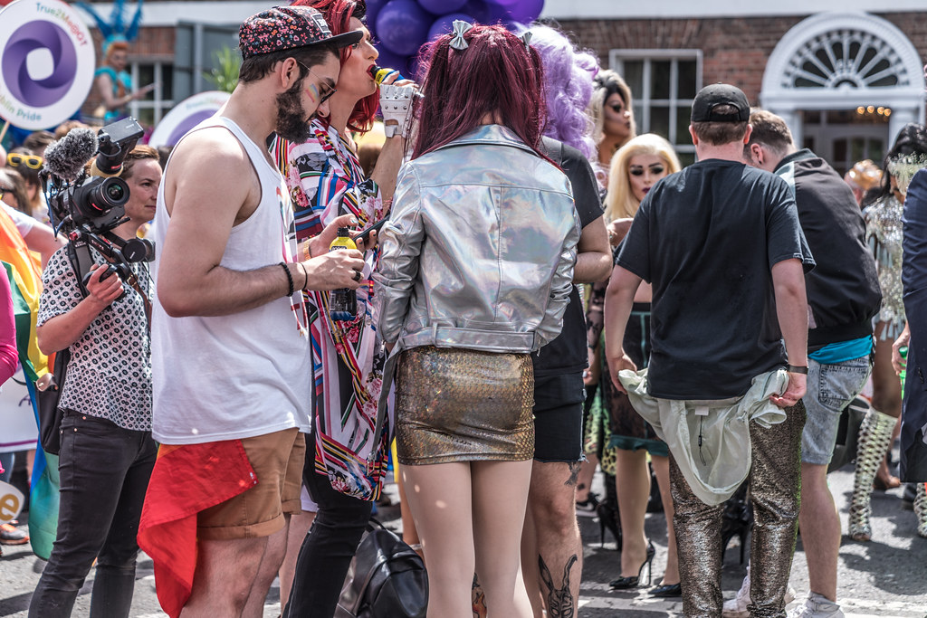 LGBTQ+ PRIDE PARADE 2017 [STEPHENS GREEN BEFORE THE ACTUAL PARADE]-129926