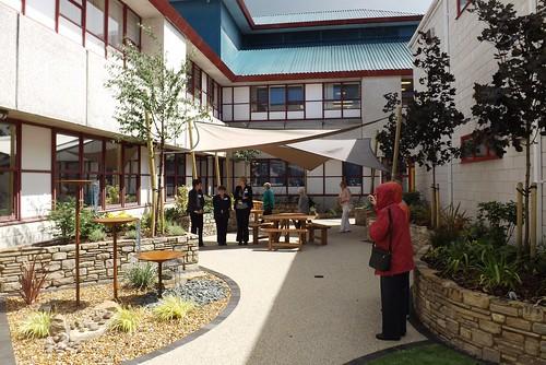 Orchard Garden courtyard
