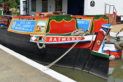 n/b Raymond (mattgilmartin) Tags: workingboat canal narrowboat raymond