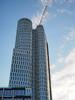 Berlin18 Upper West at Breitscheidplatz, Taken by WR 2016-08-06. (kachigarasu (busy)) Tags: ドイツ ベルリン 建築 モダン 現代建築 高層ビル 建物 雲 cloud clouds