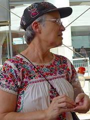 Catherine at Omaha Summer Arts Festival (ali eminov) Tags: omaha nebraska festivals artfestivals omahasummerartsfestival people women catherine