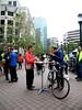 pancake breakfast (citymaus) Tags: oakland btwd biketoworkday frank ogawa plaza downtown may 2017 transportation morning bikes commute city hall bayarea month bicycle bicycling wobo eastbay pancake breakfast standing eating people
