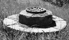 Strathaven 02 (byronv2) Tags: rural countryside clydevalley scotland strathaven rnbavon avon river riveravon strathavenales craigmillbrewery brewery mill millbuilding architecture building history blackandwhite blackwhite bw monochrome milling wheel grinding grindingstone grindingwheel millerswheel millingwheel stone round millstone