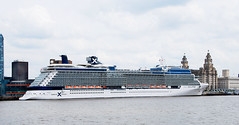 CELEBRITY ECLIPSE AT LIVERPOOL (tommypatto : ~ IMAGINE.) Tags: liverpool rivermersey liverpoolcruiselinerterminal cruise cruiseships