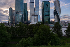 Moscow City (gubanov77) Tags: moscow russia landscape urban cityscape streetscape business moscowcity tower businesscenter moscowskyscrapers skyscrapers
