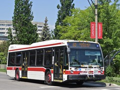 Toronto Transit Commission 8541 (YT | transport photography) Tags: ttc toronto transit commission nova bus lfs