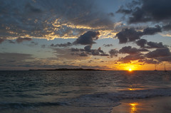 2017-04-22_05-52-15 Sunrise on Orient Beach (canavart) Tags: sxm stmartin stmaarten fwi caribbean sunrise dawn orientbeach orientbay beach morning