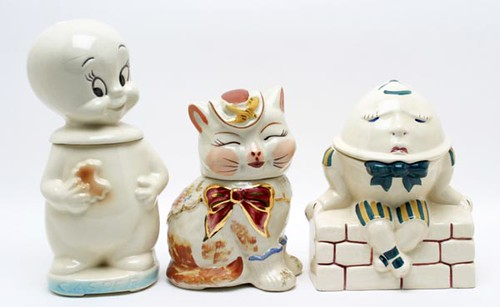 Character Cookie Jars ($224.00)
