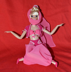 Jeannie Photoshoot 4 (trev2005) Tags: barbie i dream jeannie doll action figure barbra eden record pose
