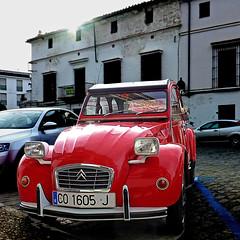 Citroën 2cv - Jerez de la Frontera (pom.angers) Tags: panasonicdmctz30 april 2017 spain españa andalusia andalucìa jerezdelafrontera europeanunion car vintagecar citroën 2cv citroën2cv 100 150 200 5000
