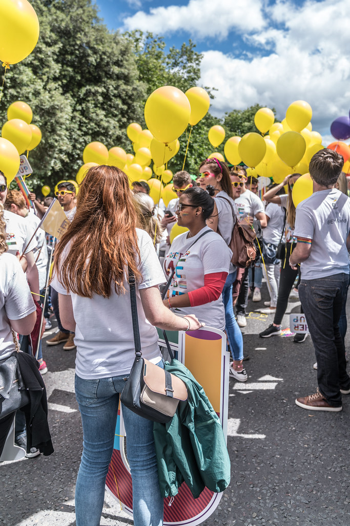 LGBTQ+ PRIDE PARADE 2017 [STEPHENS GREEN BEFORE THE ACTUAL PARADE]-129821