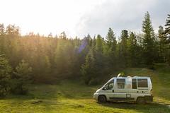 Relax nei boschi-28 ( YariGhidone ) Tags: rosso cesana lago nero claviere monti della luna van life vanlife campe furgone vita avventure adventure campfire camping wildlife wild camper