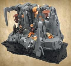 Traversing The Underdark (dzambito42) Tags: lego toys underdark adventure cave cavern