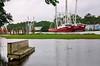 Tropical Storm Cindy flooding on Shell Belt Road in Bayou La Batre Alabama (CarmenSisson) Tags: alabama bayoulabatre gulfcoast stmargaretcatholicchurch stmargaret's tropicalstormcindy flood flooding shrimpboats storm tropicalstorm water weather usa