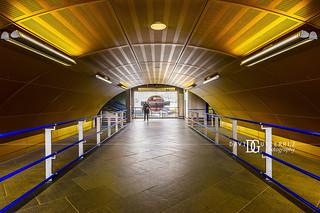 Wood Lane London Underground Tube Station, London, UK