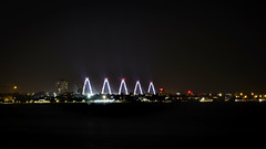 Hanoi by night (Tài Trần) Tags: lighting hanoi night longexposure bridge nikon vietnam