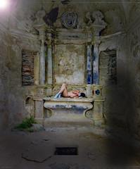 """La Sacrifiée ... ( P-A) Tags: sacrifice rite traductionvaudou religion tordue macabre cruauté inhumain pouvoir punition châtiment art photos simpa© """"nikonflickraward"""""""