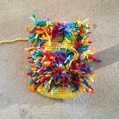 The final scrap yarn crochet cat in the series (crochetbug13) Tags: crochet crocheted crocheting crochetcat crochetcats amigurumicat amigurumicats scrapyarn scrapyarncrochet usewhatyouhave wastenotwantnot