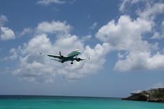 B757 Delta N6700 (XFW-Spotter) Tags: maho beach st maarten delta n6700 boenig landing island
