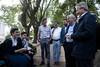 Andrés Ibarra visita el municipio de San Pedro