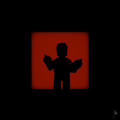 Shadow (375/100) - Hot Dog Man (Ballou34) Tags: 2017 7dmark2 7dmarkii 7d2 7dii afol ballou34 canon canon7dmarkii canon7dii eos eos7dmarkii eos7d2 eos7dii flickr lego legographer legography minifigures photography stuckinplastic toy toyphotography toys 7d mark 2 ii eos7d stuck plastic courbevoie îledefrance france fr nanterre puteaux blackwhite light shadow photgraphy enevucube minifigure 100shadow collectible series 17 hot dog man milshake waiter