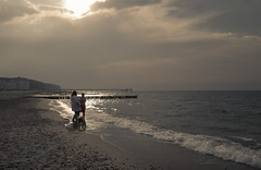 Heiligendamm - Baltic Sea (elisachris) Tags: heiligendamm ostsee balticsea sonnenuntergang sunset meer natur nature strand beach ricohgr