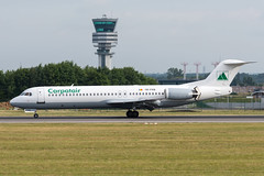 Carpatair / F100 / YR-FKB / EBBR 25L (_Wouter Cooremans) Tags: ebbr bru brusselsairport zaventem spotting spotter avgeek aviation airplanespotting carpatair f100 yrfkb 25l