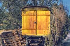 19160728904_f6974418cf_o (anyera2015) Tags: ceuta canon canon70d carro carromato amarillo hdr