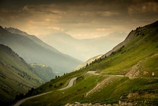 Col du Glandon - Mont Blanc