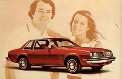 1976 Pontiac Sunbird 2-Door Coupe (aldenjewell) Tags: 1976 pontiac sunbird 2door coupe postcard